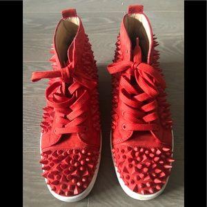 CL red sneaker